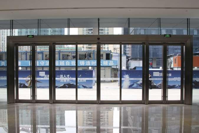 办公楼入口自动门
